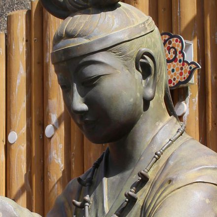 玉造温泉「姫神像」