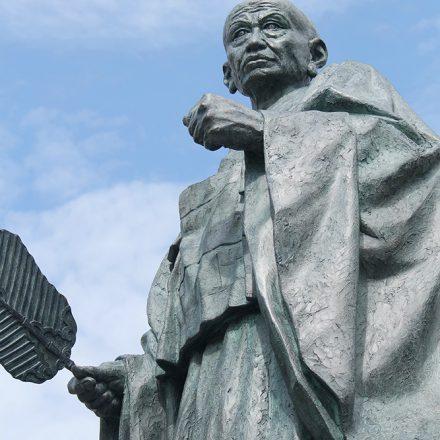 武田信虎公の像